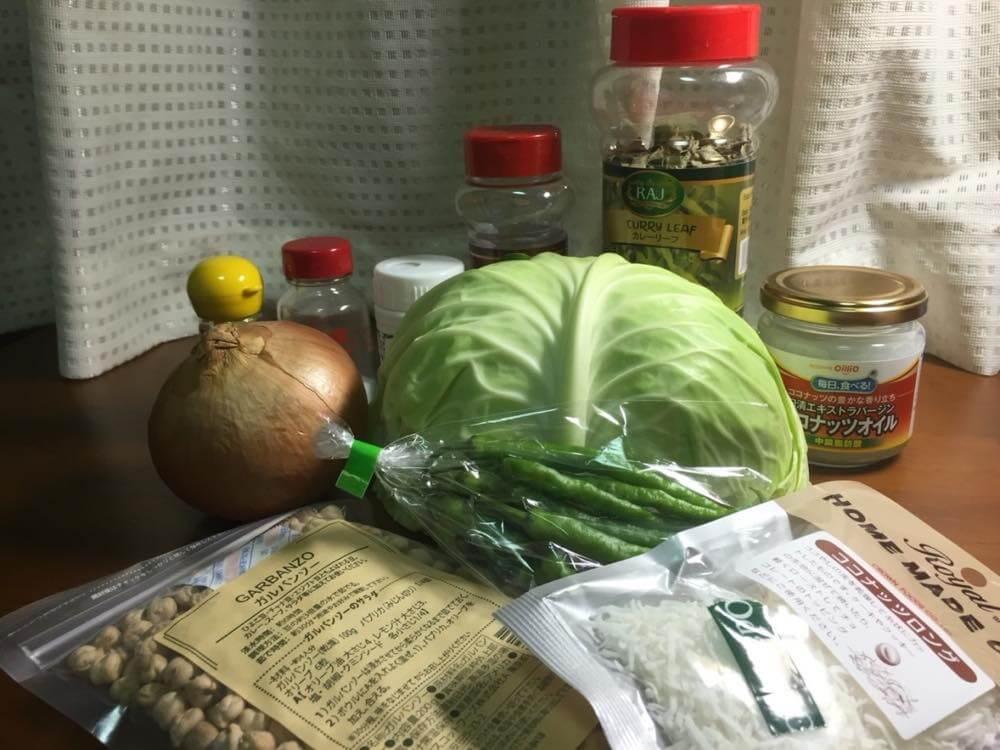 【レシピ】キャベツのポリヤル