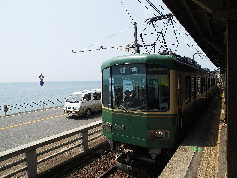 鎌倉、江ノ電