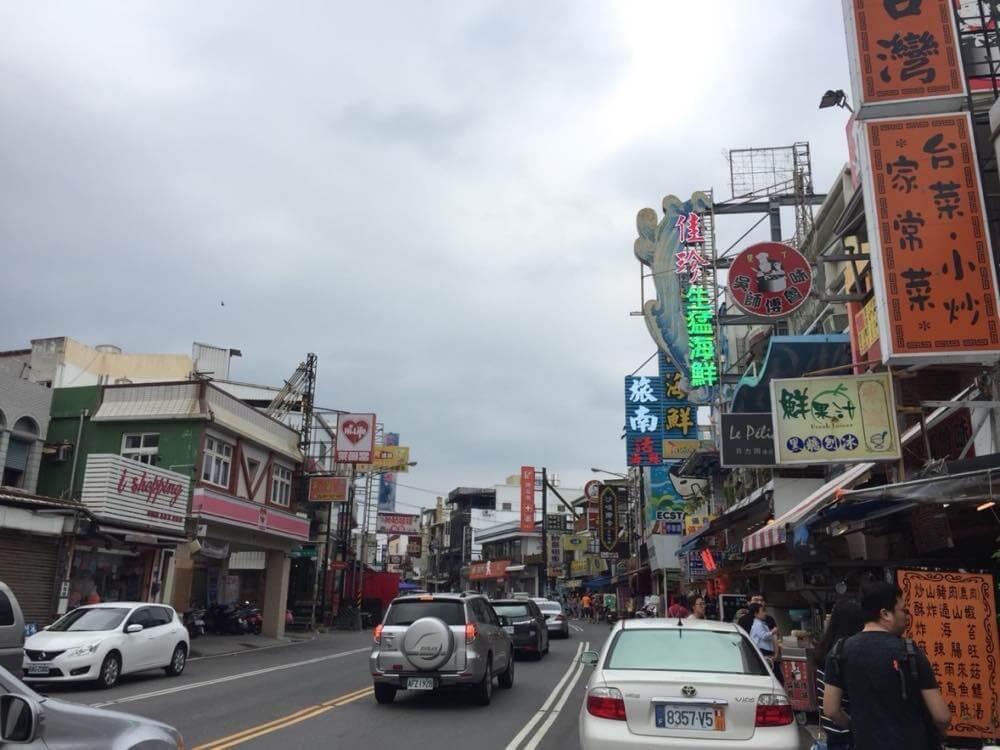 墾丁大街【台湾2(高雄〜墾丁)】
