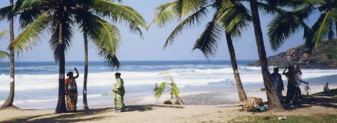 コヴァーラムビーチ(インド)