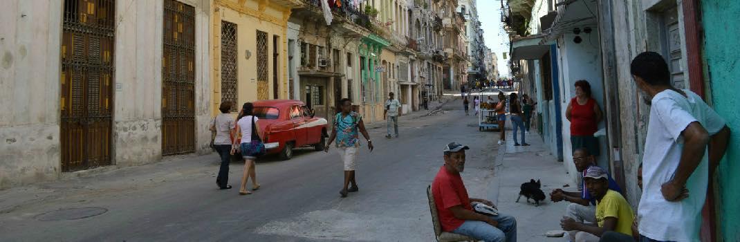 ハバナ旧市街(キューバ)