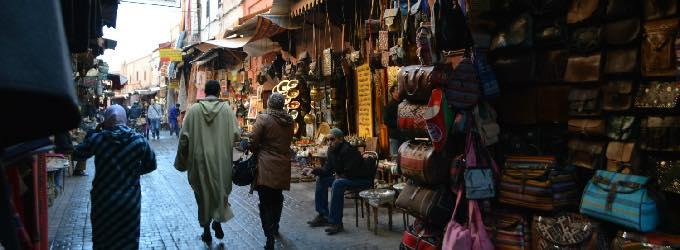 マラケシュのメディナ(モロッコ)