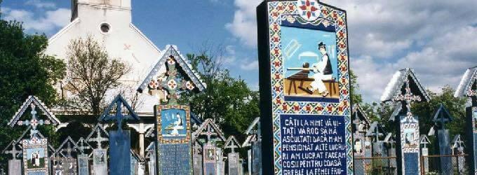 陽気な墓(ルーマニア)