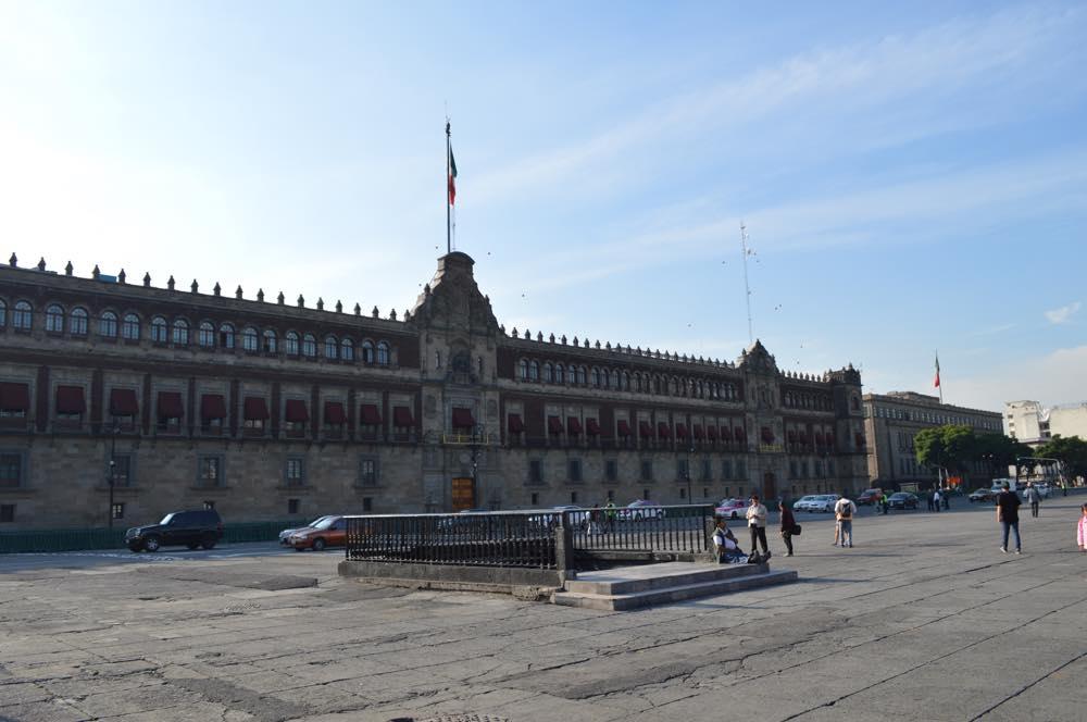 国立宮殿(ソカロ)(メキシコシティ②)【メキシコ】