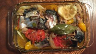 【レシピ】蒸すだけで、トルコの簡単豪華料理!「サバと野菜とレモンの蒸し煮」