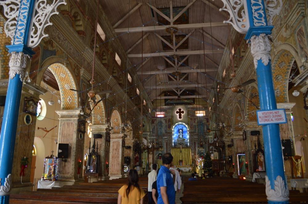 サンタ・クルス聖堂 フォートコーチン(南インド・ケララ州2)