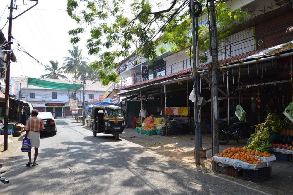 野菜バザール マッタンチェリー(南インド・ケララ州3)