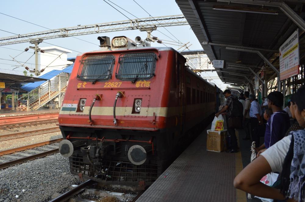 エルナクラム・タウン駅(南インド・ケララ州6)