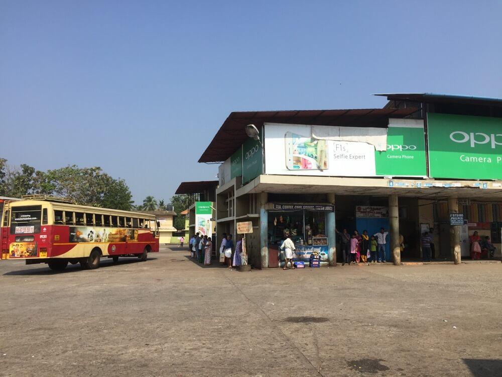バスでトリヴァンドラムへ(南インド・ケララ州7)