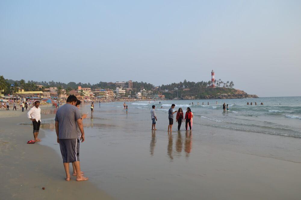 コヴァーラムビーチ(南インド・ケララ州8)