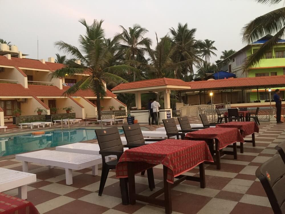 Hotel Seaface(夕食)(南インド・ケララ州8)