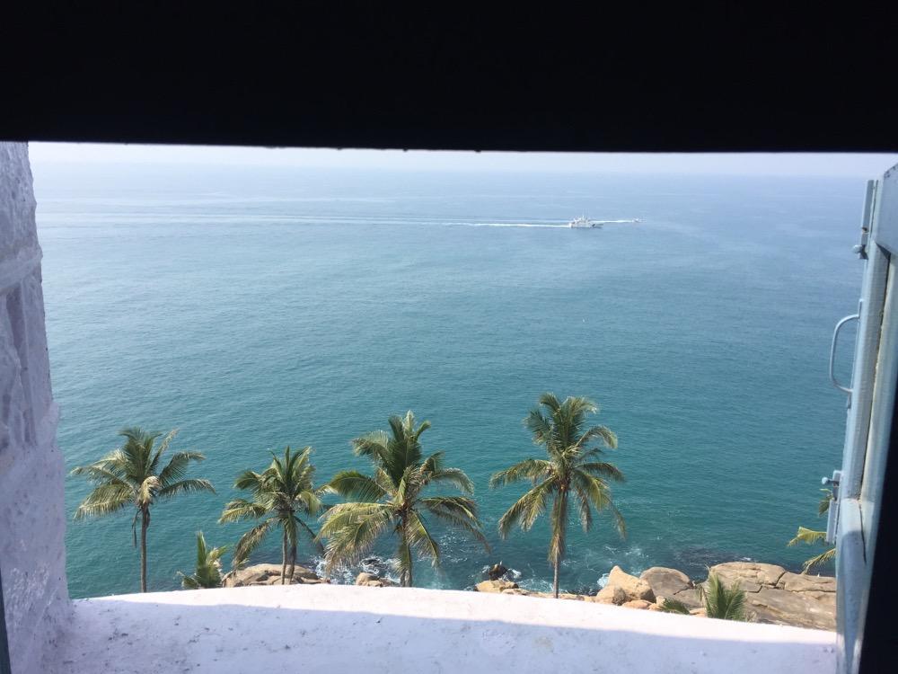 ヴィリンジャム灯台 コヴァーラムビーチ(南インド・ケララ州9)