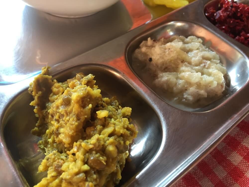 Janani(ランチ)コヴァーラムビーチ(南インド・ケララ州10)