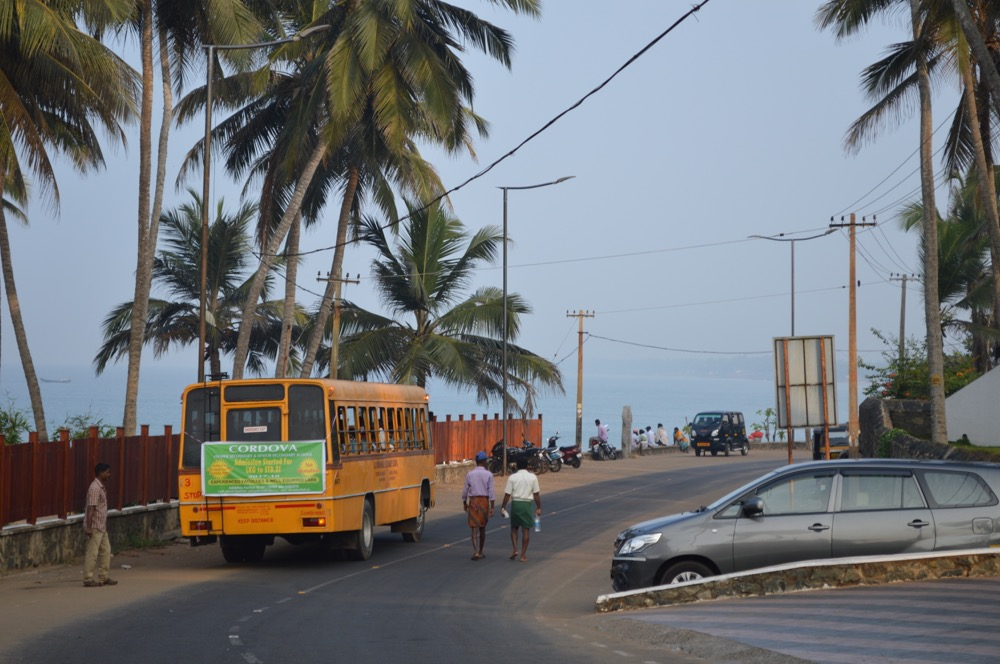 コヴァーラムビーチ(南インド・ケララ州11)