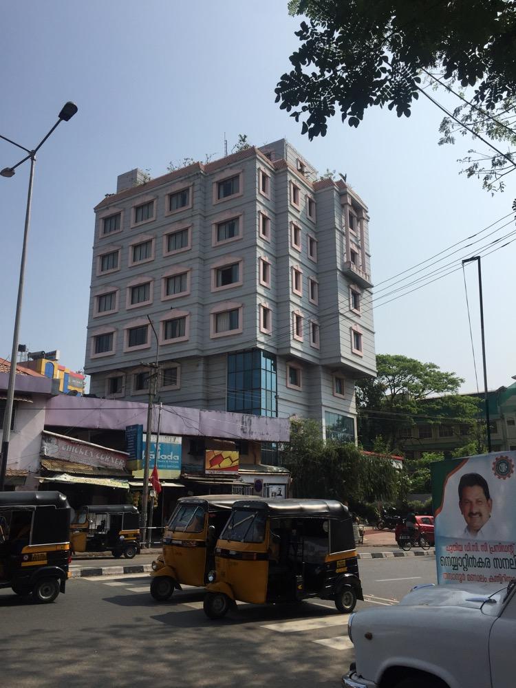 Ariya Nivas Hotel(ランチ)トリヴァンドラム(南インド・ケララ州13)