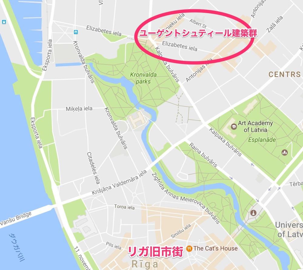 リガMAP2(バルト三国⑧)