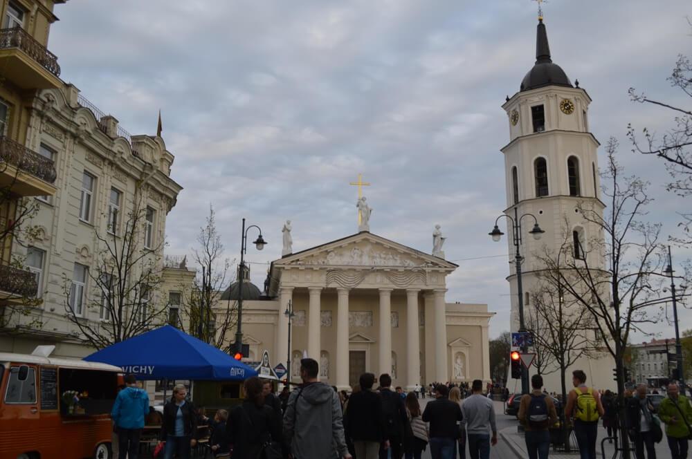 ビリニュス旧市街(バルト三国13:リトアニア:ビリニュス)
