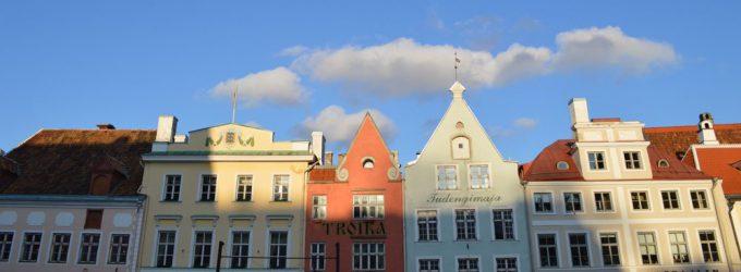 タリン旧市街(エストニア)
