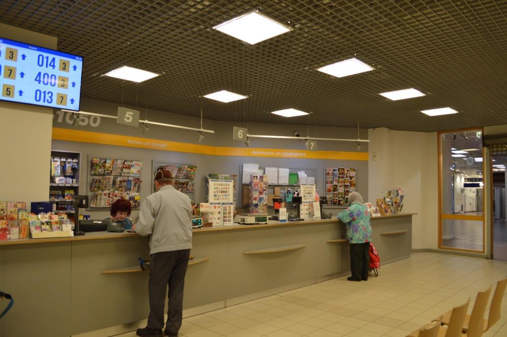 郵便局(バルト三国⑦:ラトビア:リガ)