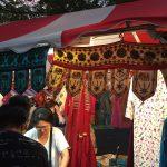 インド雑貨に囲まれる「ナマステ★インディア 2017」@代々木公園