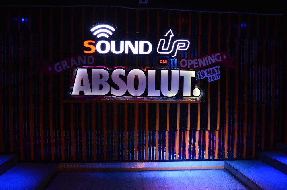 SOUND UP ABSOLUT.(クラブ)【タイ・チェンマイ⑥】