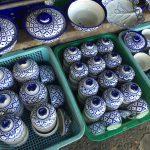 ウィークエンドマーケット「チャトチャック市場」でタイの青白陶器を購入!【タイ・バンコク】