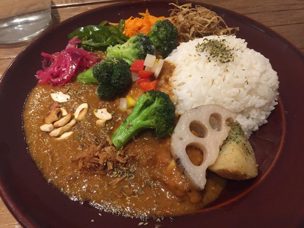 下北沢、Mikazuki Curry SAMURAI.
