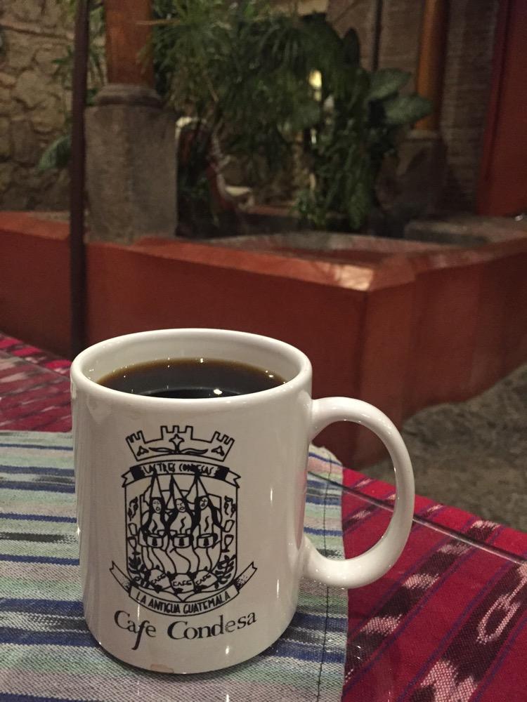 Cafe Condesa【グアテマラ⑩:アンティグア2】