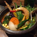 20品目の新鮮野菜が一度に食べられるスープカレーのお店『Rojiura Curry SAMURAI. 下北沢店』@下北沢