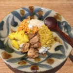 「咖喱と古民藝」でスリランカカレーをいただきました@SML(中目黒)