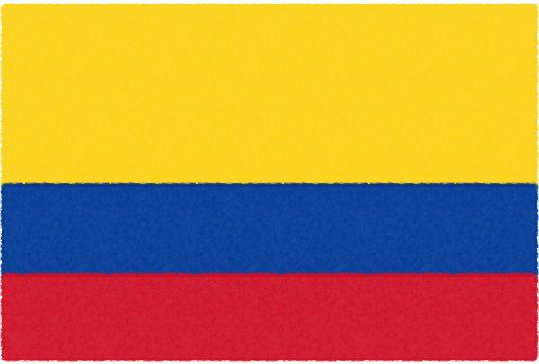 コロンビア国旗【コロンビア①】