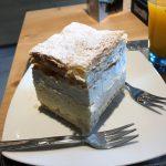 """ブレッド湖の名物""""ブレッドケーキ""""が食べられるカフェ『Slascicarna Zima』@スロベニア・ブレッド湖"""
