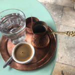 『Café de Alma』★伝統的なボスニアンコーヒーを静かなテラス席でいただく@モスタル
