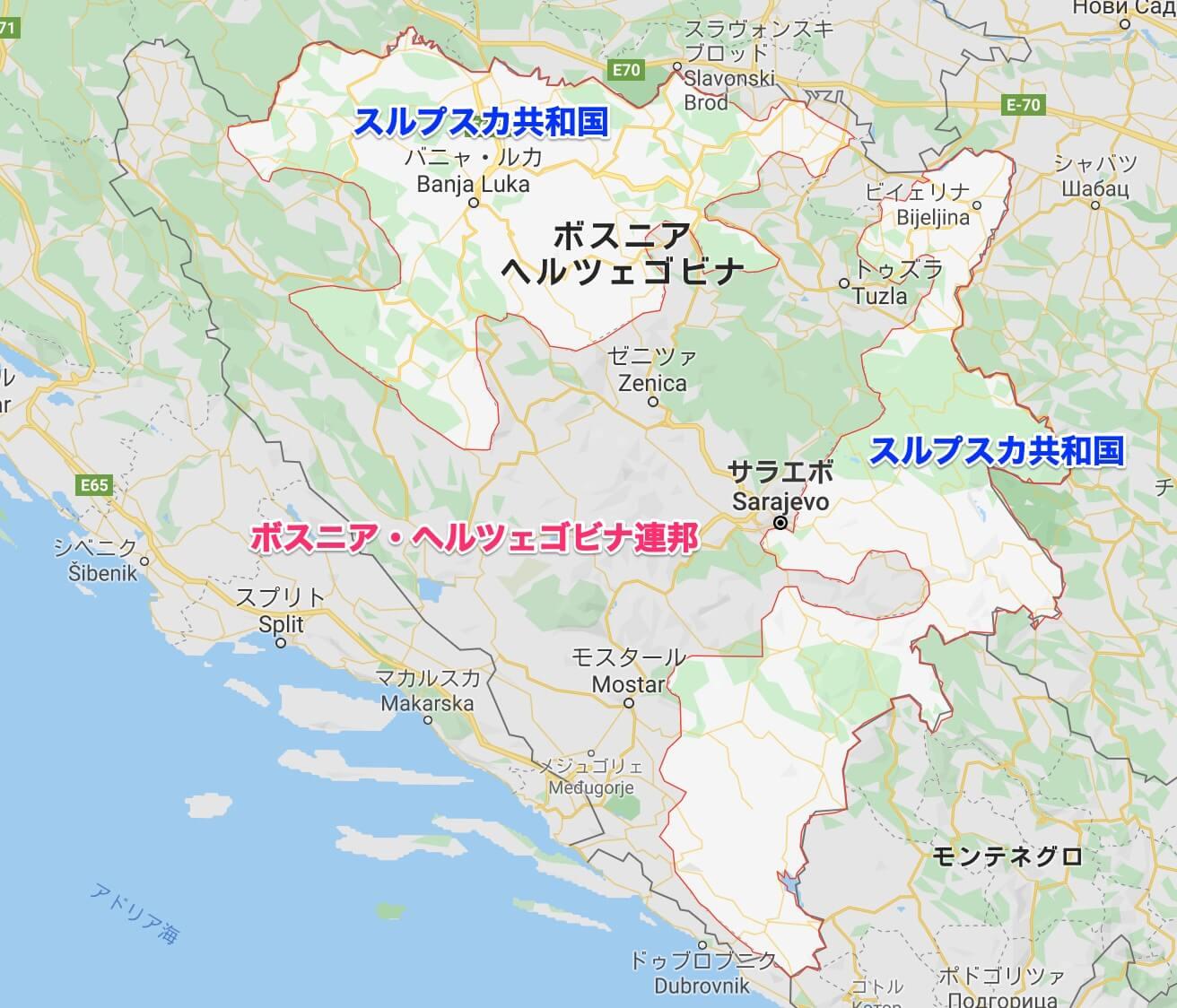 map_スルプスカ共和国【バルカン】
