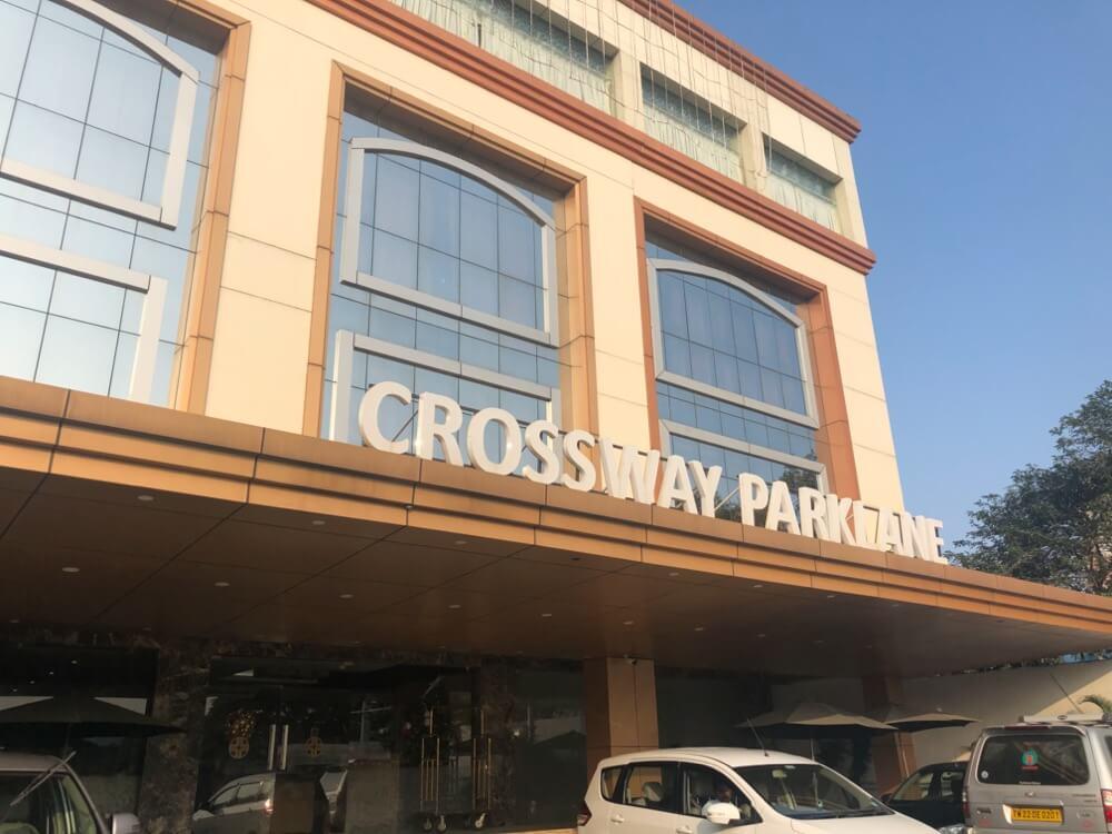 Crossway Parklane Airport Hotel Chennai 【南インド(タミル)②】