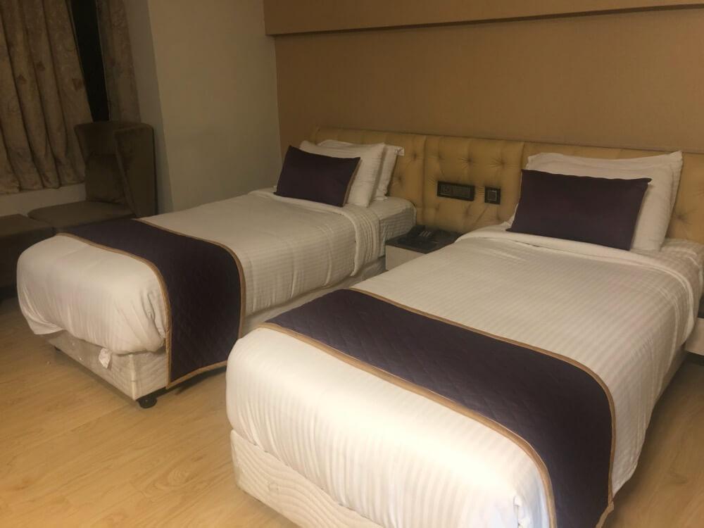 Crossway Parklane Airport Hotel Chennai【南インド(タミル)①】