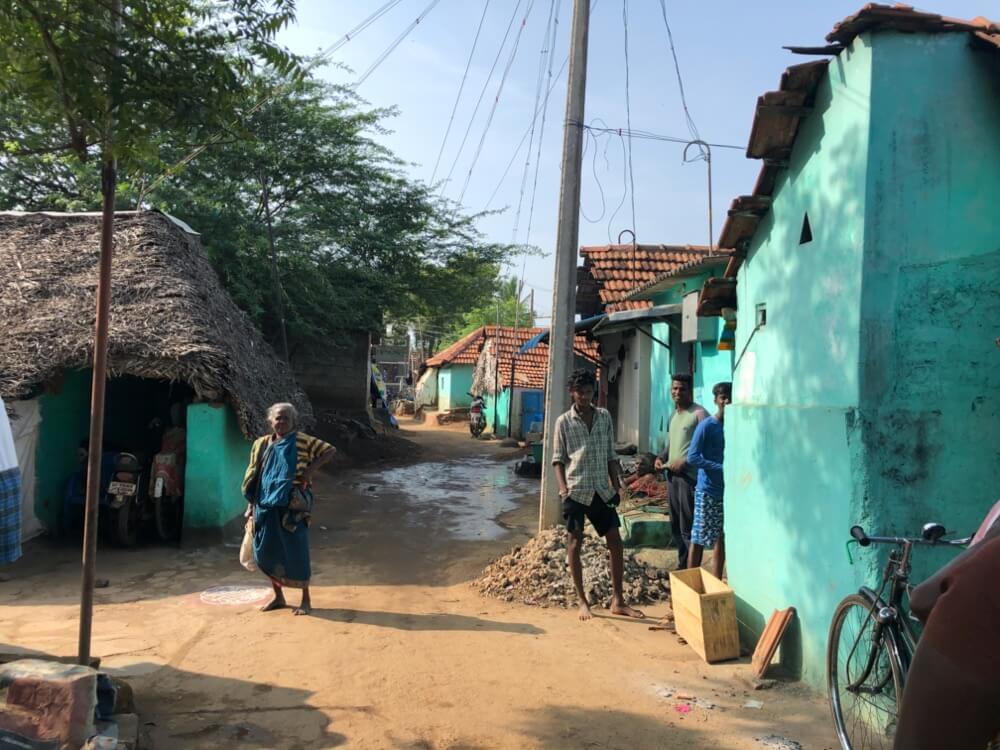 カライクディ②(村の散歩)【南インド(タミル)④】