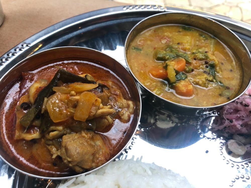 下北沢、ruko ruko curry