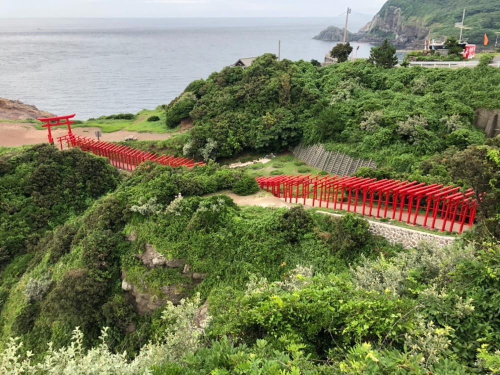 山口・広島旅①元乃隅稲成神社